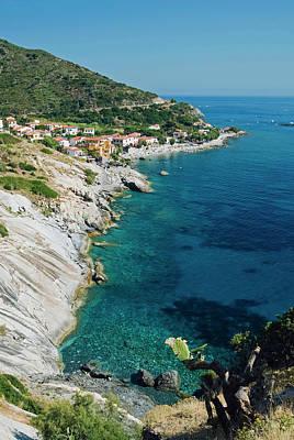 Pomonte, Isola D'elba, Elba, Tuscany Art Print by Nico Tondini