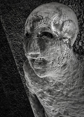 Photograph - Pompeii Victim by Phil Cardamone