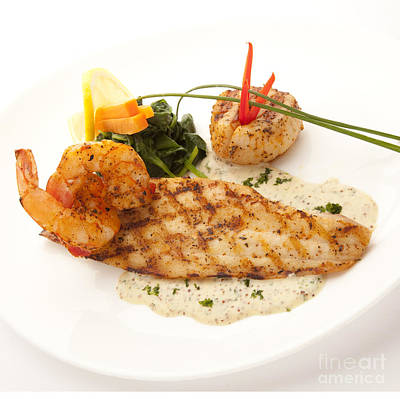 Photograph - Pompano by New  Orleans Food
