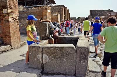 Photograph - Pompei-100 by Rezzan Erguvan-Onal