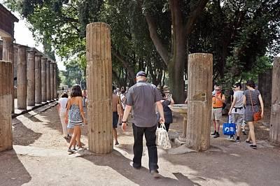 Photograph - Pompei-101 by Rezzan Erguvan-Onal