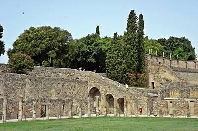 Photograph - Pompei-111 by Rezzan Erguvan-Onal