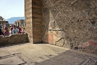 Photograph - Pompei-79 by Rezzan Erguvan-Onal