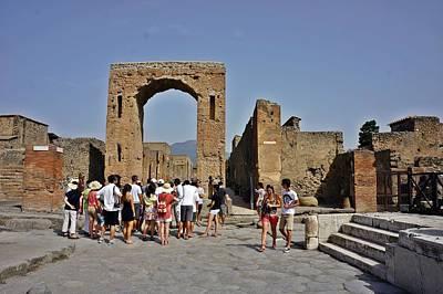 Photograph - Pompei-91 by Rezzan Erguvan-Onal