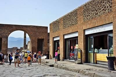 Photograph - Pompei-92 by Rezzan Erguvan-Onal