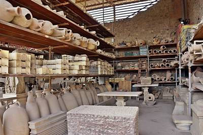 Photograph - Pompei-93 by Rezzan Erguvan-Onal