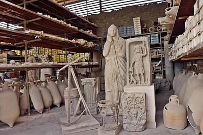 Photograph - Pompei-94 by Rezzan Erguvan-Onal