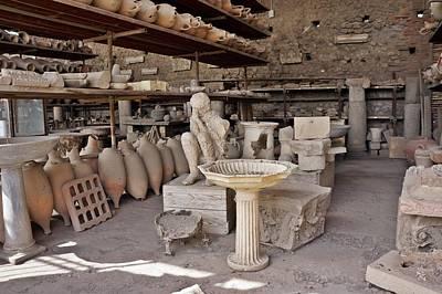 Photograph - Pompei-95 by Rezzan Erguvan-Onal