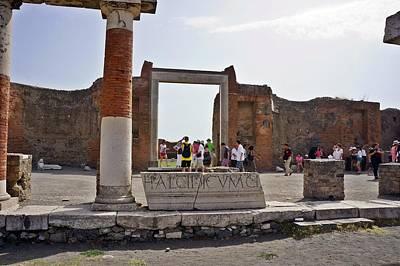 Photograph - Pompei-97 by Rezzan Erguvan-Onal