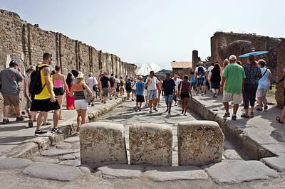 Photograph - Pompei-98 by Rezzan Erguvan-Onal