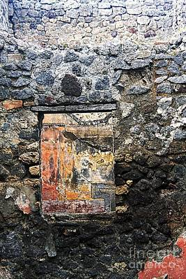 Photograph - Pompei Abstract #6 by Tom Griffithe