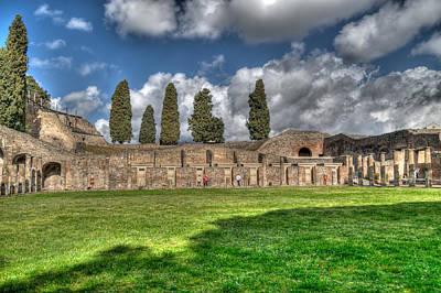Photograph - Pompei Quadricolonnato by Enrico Pelos