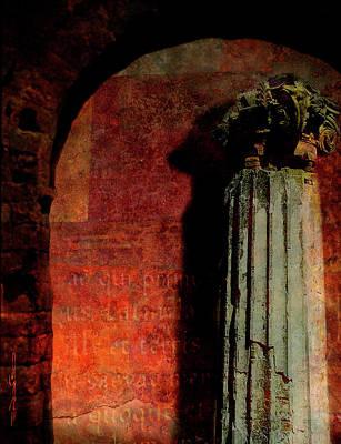Painting - Pompeii Column by Patrick J Osborne
