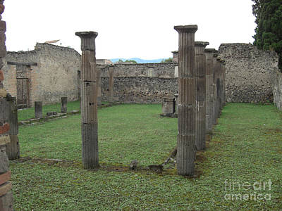 Photograph - Pompeii Columns by Deborah Smolinske