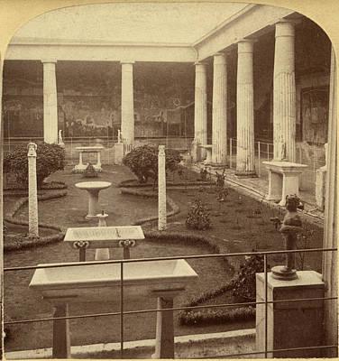 Pompeii Painting - Pompeii House, 1897 by Granger