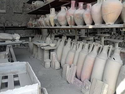 Digital Art - Pompeii Ruins Iv by Shesh Tantry