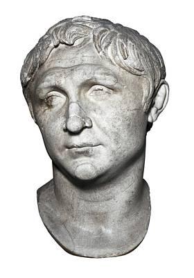Statue Portrait Photograph - Pompey The Great 106-48 Bc. Roman by Everett