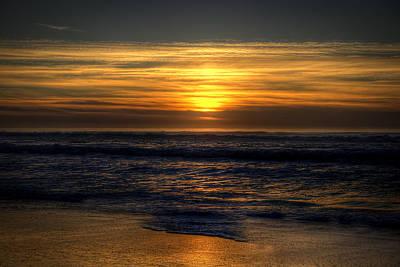 Photograph - Pomponio Beach by Robert Melvin