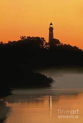 Photograph - Ponce De Leon Inlet Lighthouse - Fs000764 by Daniel Dempster