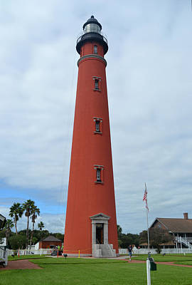 Photograph - Ponce De Leon Inlet Lighthouse by rd Erickson
