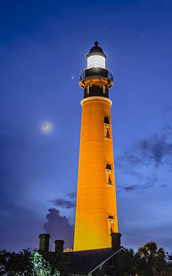Photograph - Ponce De Leon Lighthouse by Alan Marlowe