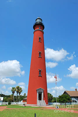 Photograph - Ponce Inlet Lighthouse #1 by Bob Sample