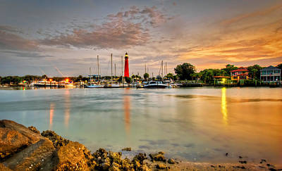 Photograph - Ponce Inlet Lighthouse by Brent Craft