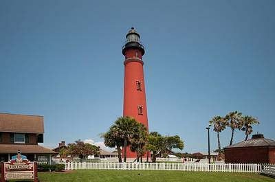 Photograph - Ponce Inlet Lighthouse - Daytona Beach by John Black