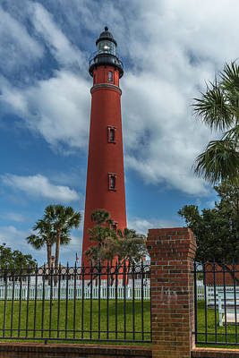 Landscape Photograph - Ponce Inlet Lighthouse by Erwin Spinner