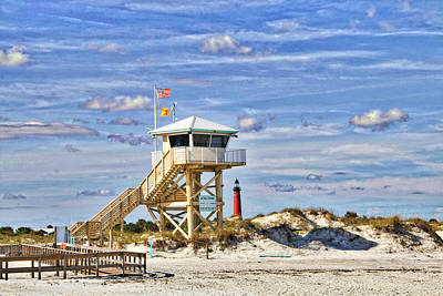 Ponce Inlet Scenic Art Print