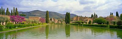 Ancient Civilization Photograph - Pond At A Villa, Hadrians Villa by Panoramic Images