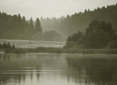 Photograph - Pond At Blato 1 by Michael Kirk