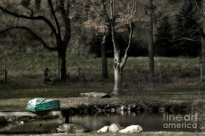 Photograph - Pond Boat by Nicki McManus