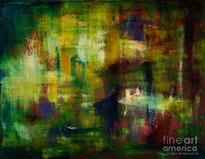 Painting - Pond by Gina De Gorna