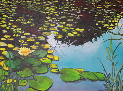 Painting - Pond by Jorge Parellada