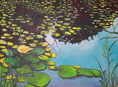 Painting - Pond by Jorge Parellada