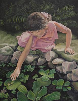 Pond Magic Print by Holly Kallie