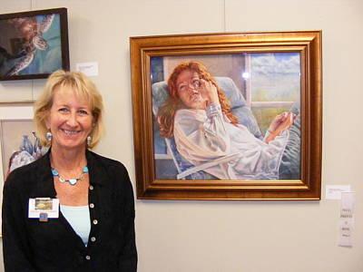 Painting - Pondering A Sunbeam by Denise Horne-Kaplan