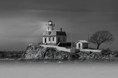 Photograph - Ponham Rock Light by Robin-Lee Vieira