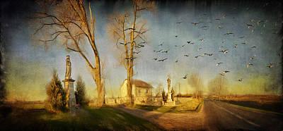 Ponidzie Art Print by Anna Gora