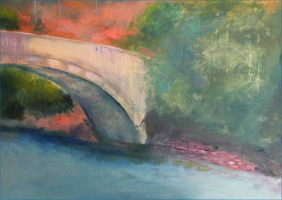 Painting - Pont A Castellane by Rosemarie Hakim