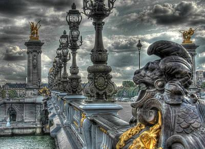 Photograph - Pont Alexandre IIi  by Michael Kirk