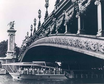 Alexandre Photograph - Pont Alexandre In Paris by Retro Images Archive