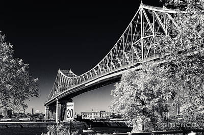 Pont Jacques Cartier Art Print