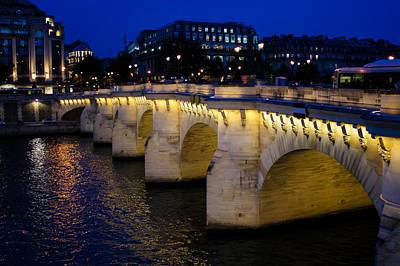 Photograph - Pont Neuf Bridge - Paris - France by Georgia Mizuleva