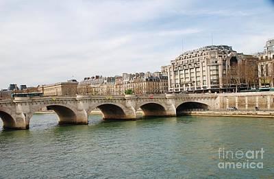 Photograph - Pont Neuf Paris by David Fowler
