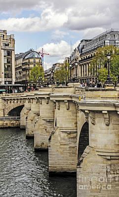 World War 2 Action Photography - Pont Neuf to Ile de la Cite by Elvis Vaughn