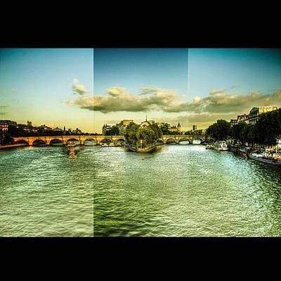 Paris Skyline Photograph - Pont Neuf/paris #paris #skyline #sky by Selim Babacan