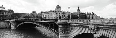 Pont Notre-dame Over Seine River Art Print by Panoramic Images
