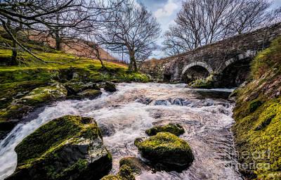 N.y Photograph - Pont Y Ceunan Bridge by Adrian Evans